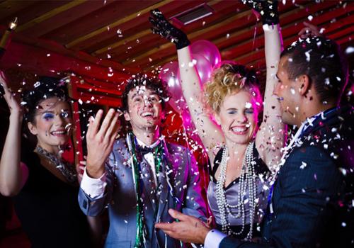 Новогодний корпоратив в ресторанах Grand Soho Hotel в Азове
