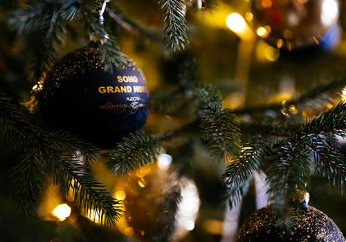 Новый год в Сохо Гранд отель