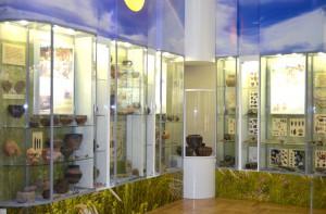 Фрагмент экспозиции Азов и Приазовье в эпоху энеолита-бронзы