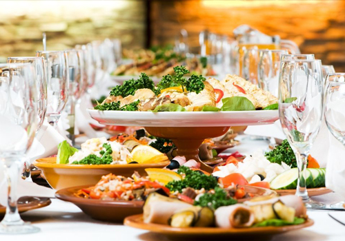 Цены на банкетное меню - ресторан для свадьбы, банкета в Азове